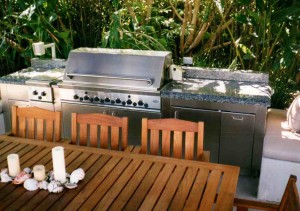 Stainless steel bar-b-q