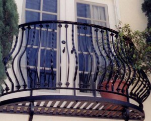 Steel balconys and hand rails